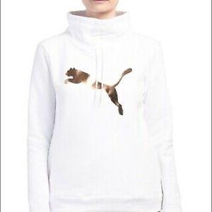 PUMA Cinch Up Cat Fleece Sweatshirt